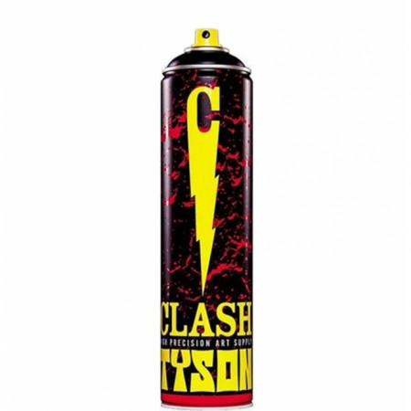 Clash Tyson Spray Paint