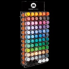 Molotow Spray Paint Rack Filled (72 Cans)
