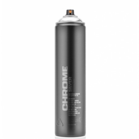 Montana Silver Chrome Spray Paint 600ml