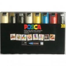 Uni Posca PC-8K 8 Piece Pack