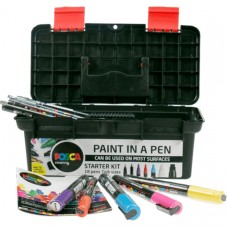 Uni  Posca Tool Box Starter Kit